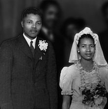 Nelson Mandela : Marriage